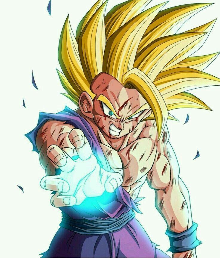 Gohan Ssj 2 Personajes De Goku Figuras De Goku Gohan Ssj 2