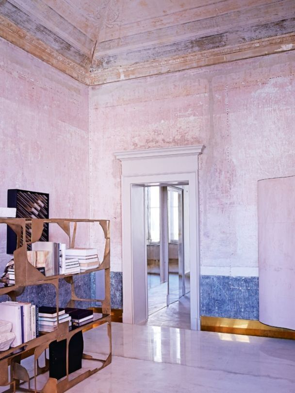 Vincenzo de cotii   th century palazzo apartment in milan modedamour bloglovin also rh pinterest
