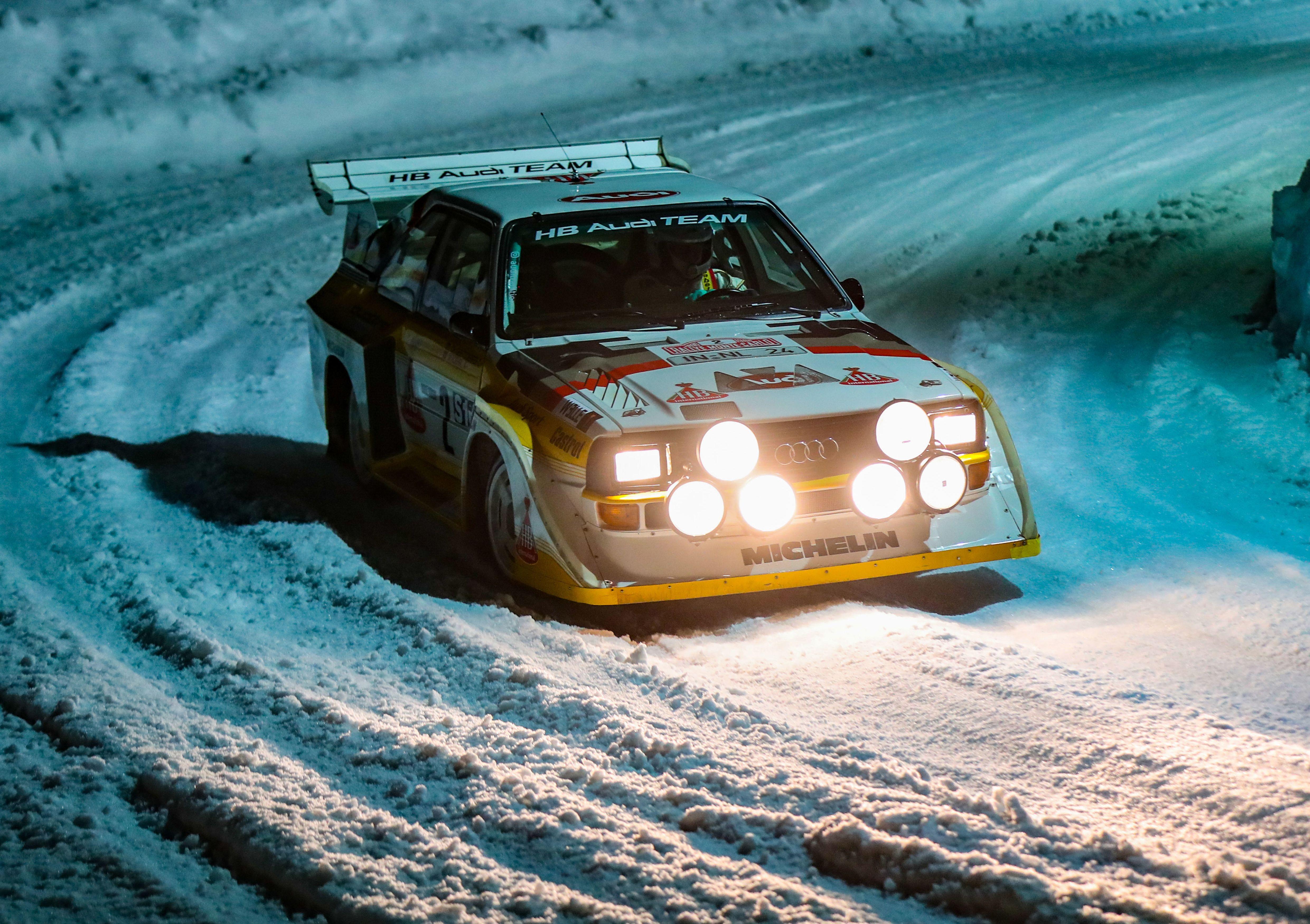 Photographer Recreates Iconic Audi Sport Quattro S1 Rally Photos In Lego Rally Car Racing Rally Car Rally Racing