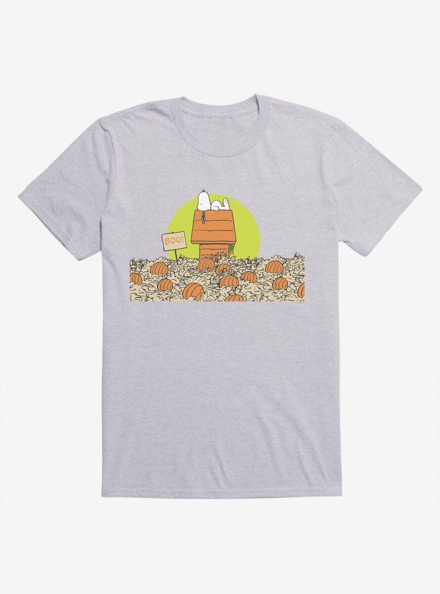 Peanuts Snoopy Halloween Pumpkin Patch T-Shirt