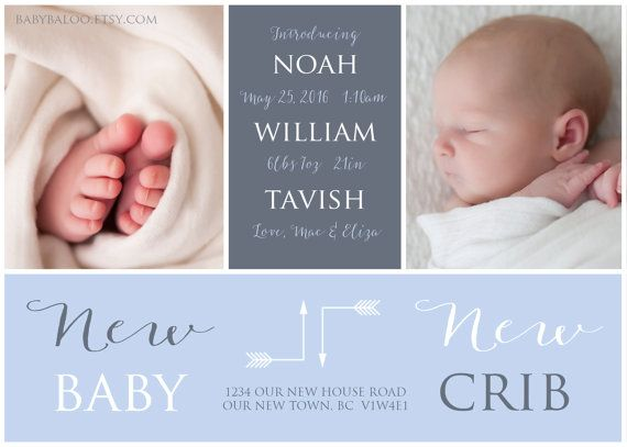 moving birth announcement new baby new crib photo by babybaloo
