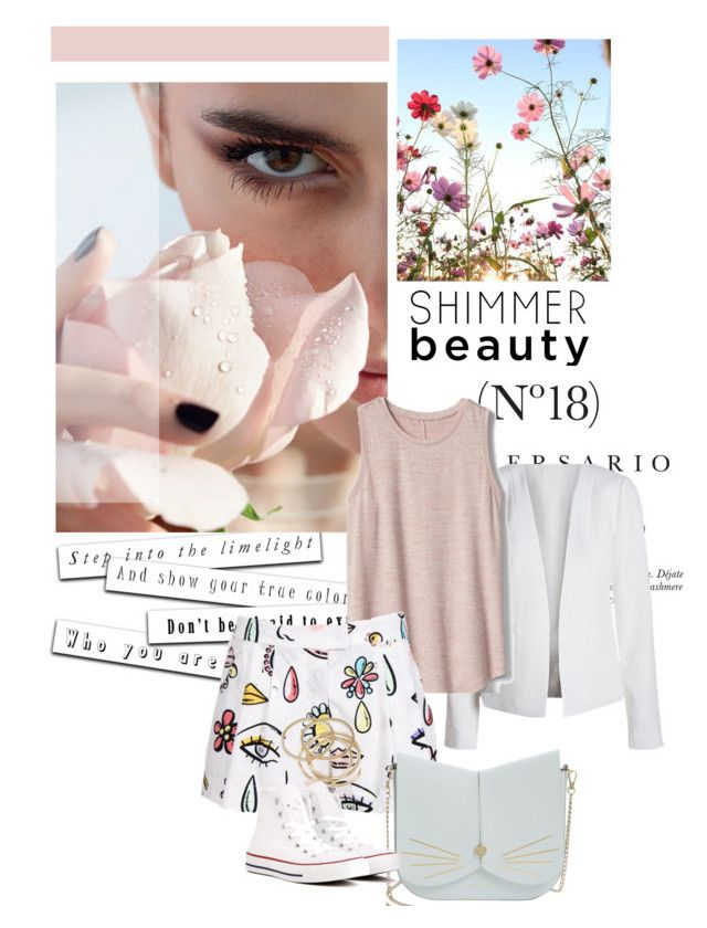 """""""Spring Fling"""" by jessica-779 ❤ liked on Polyvore featuring Gap, Moschino, Ted Baker, ABS by Allen Schwartz, Converse and Sinclair"""