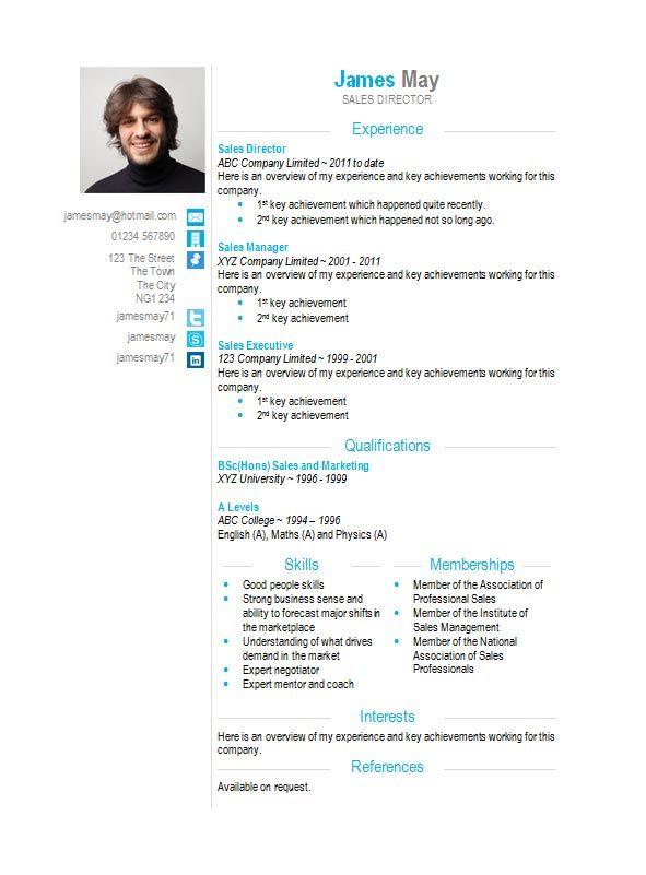 example of resume in microsoft word