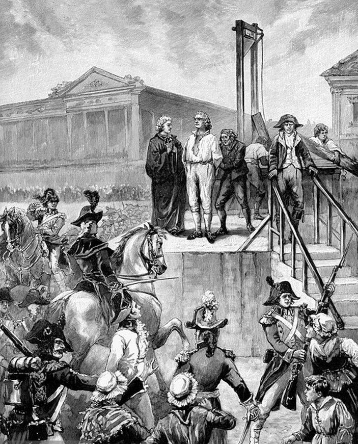 The Execution Of King Louis Xvi Louis Xvi French History French Revolution