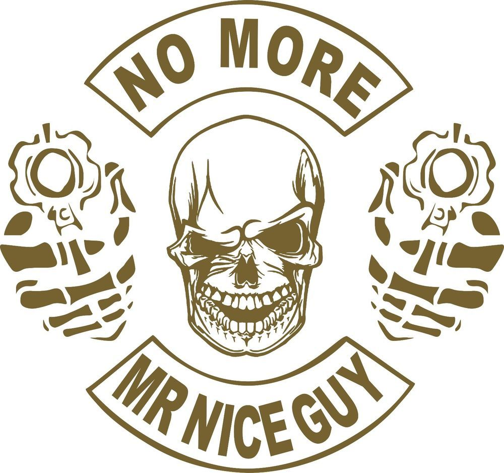 Nd Amendment Skull Gun No More Mr Nice Guy Car Truck Window Vinyl - Custom vinyl decals for cardeer skull gun rifle hunting car truck window wall laptop vinyl