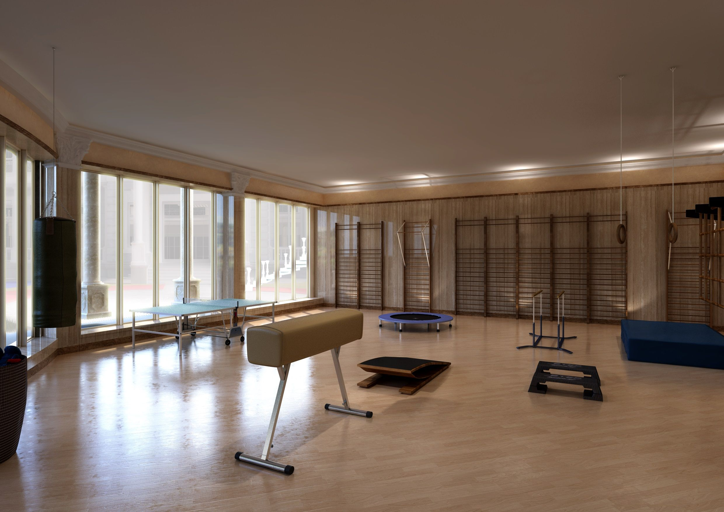 Fitness Room 2 Img004 #Fitness #Massimotrezziforniture Project By Massimo Trezzi Forniture