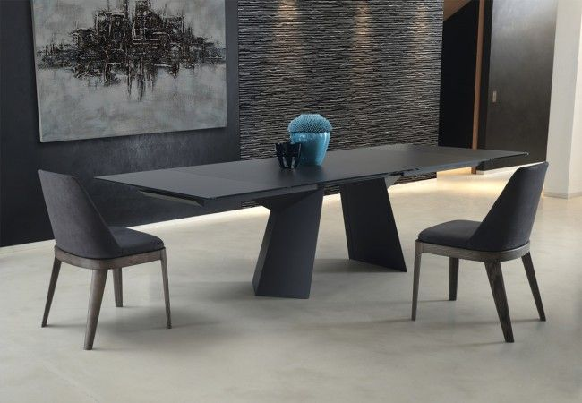 Scratch Resistant Extendable Glass Dining Table Furniture Mesmerizing Extendable Glass Dining Room Table Decorating Inspiration