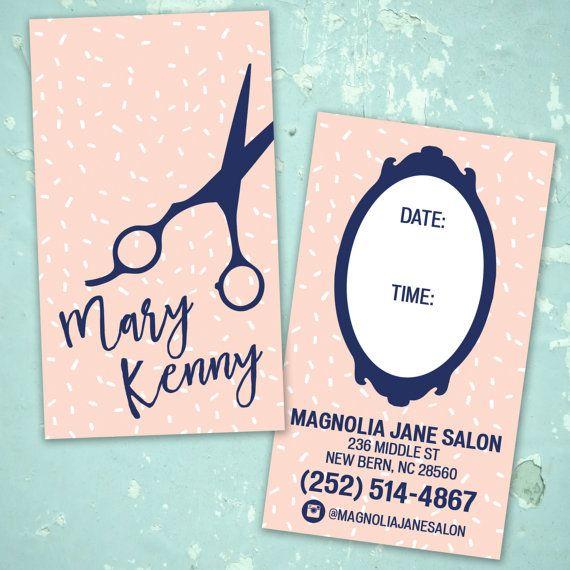 Hip Custom Hair Stylist Business Cards Professionally Printed
