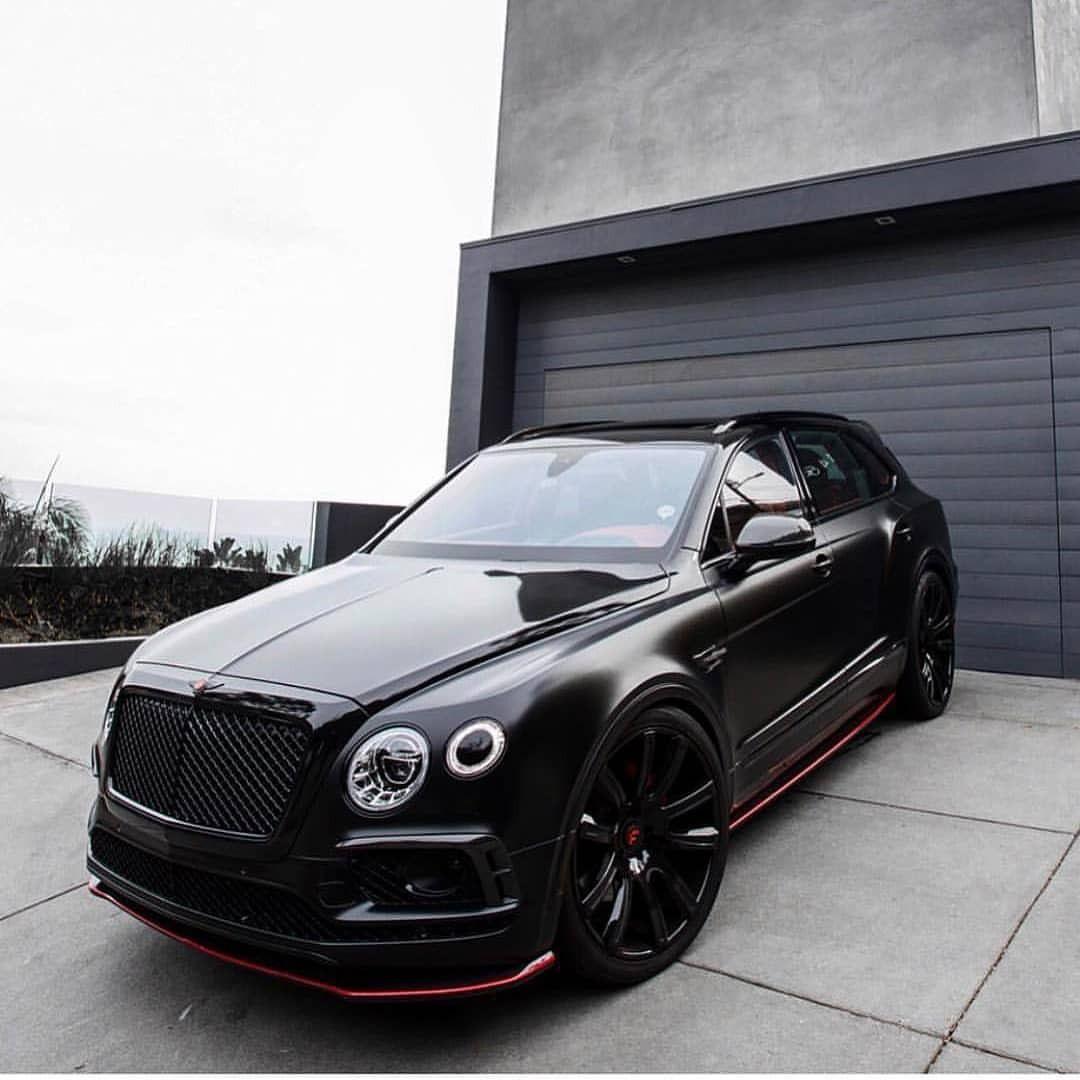 Black Bentayga C Ibn Small Luxury Cars Bentley Suv Cars