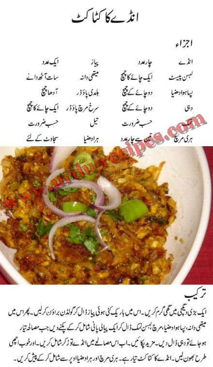 Anday Ka Katakut Recipe, This is spicy and unique dish