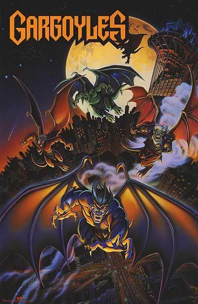 Halloween 2020 Imp Awards Gargoyles TV Poster (#1 of 3)   IMP Awards in 2020 | Gargoyles