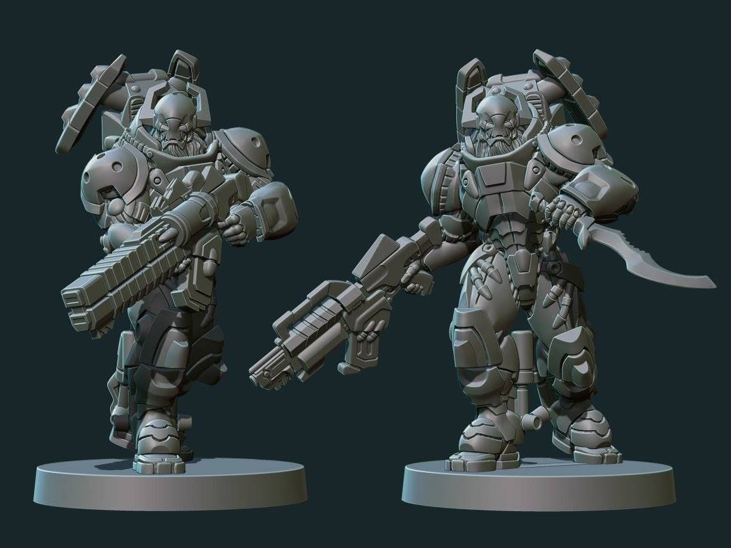 Top page gt gt infinite - Zbrush Sculpt For Infinity 30mm Miniature Gt Studio Creations