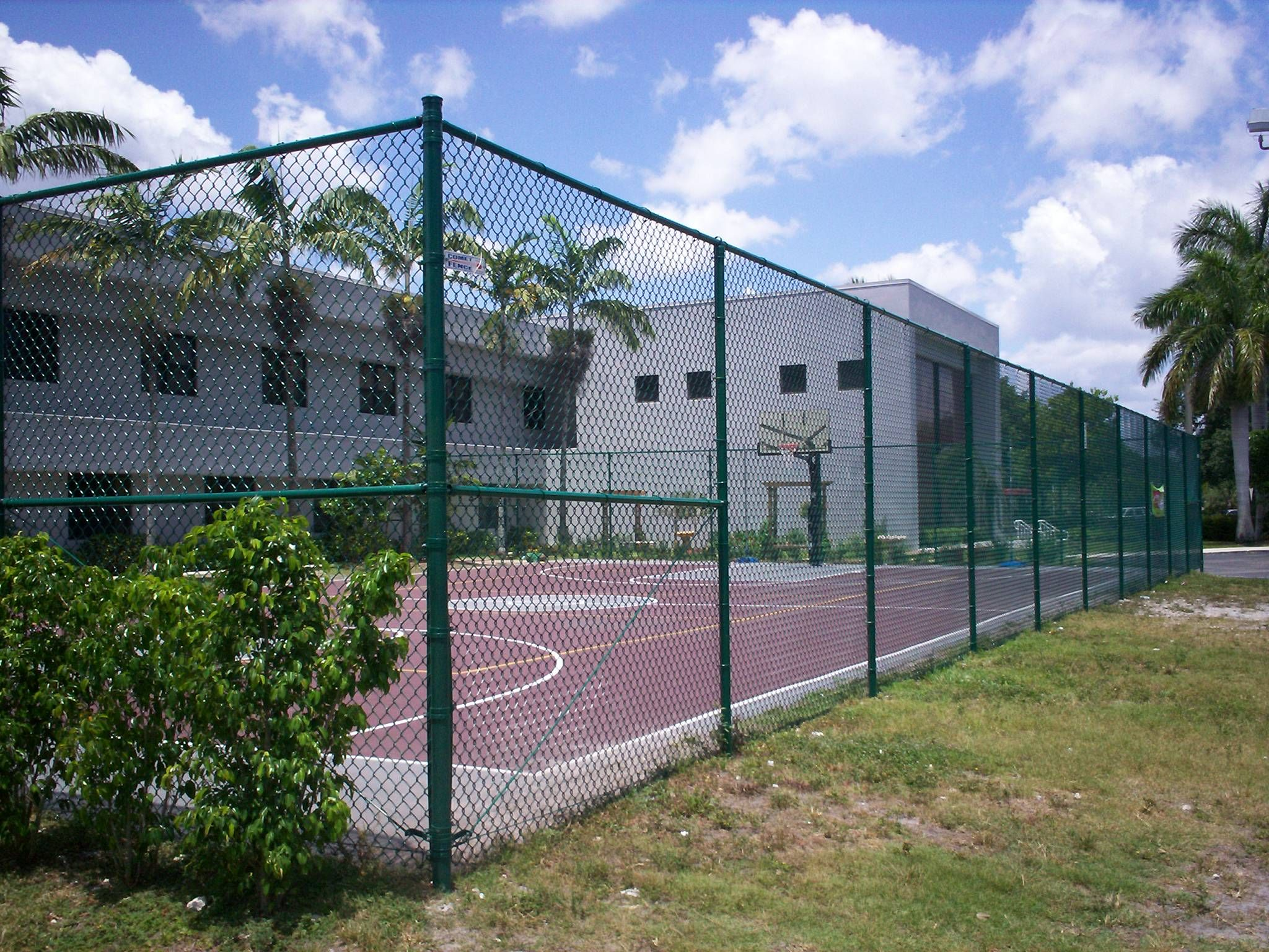 Tennis Court Fence 10 Ft High Chain Link Black Green Chain Link Fence Installation Chain Link Fence Black Chain Link Fence