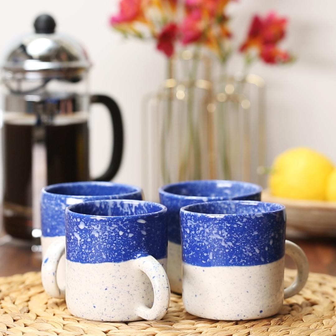 DIY Speckled Mug