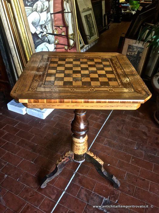 Mobili antichi - Tavoli e tavolini - Antico tavolo ...