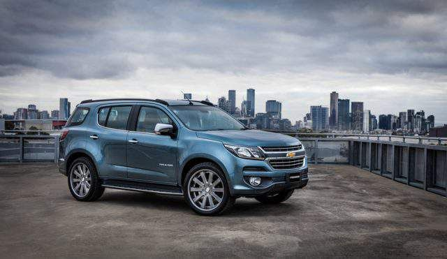 The 2018 Chevrolet Trailblazer Model Is The Latest Rendition Of
