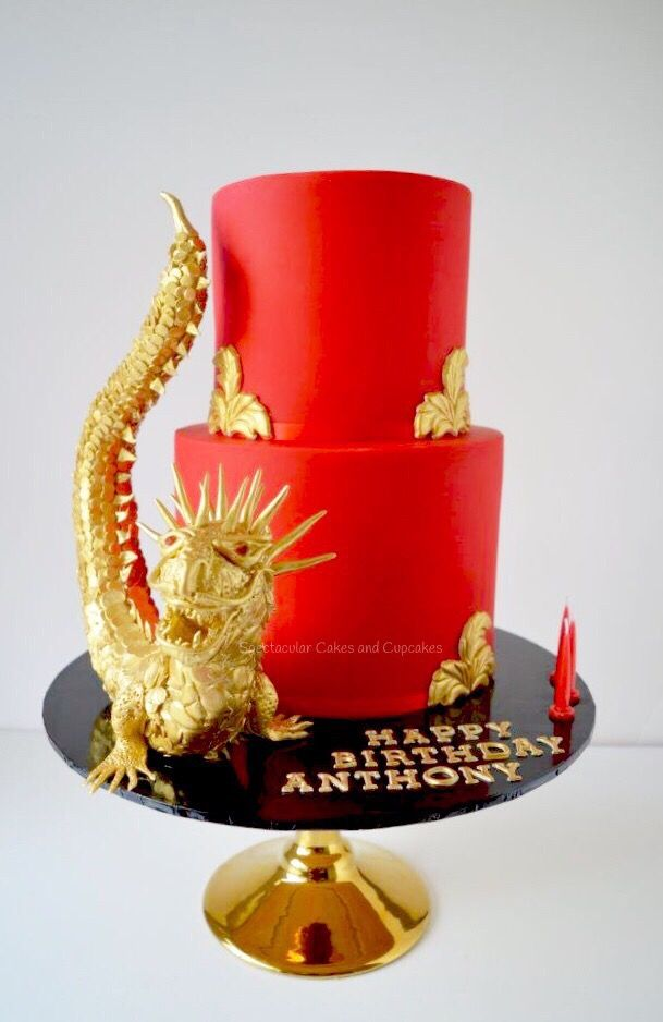 Dragon Cake Boys Birthday 21st