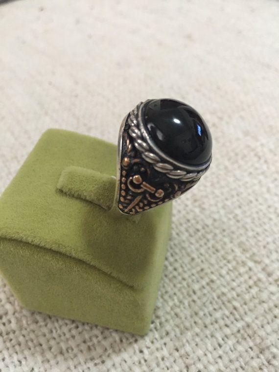 925 joyería de plata esterlina otomano anillo por Erlasilvery