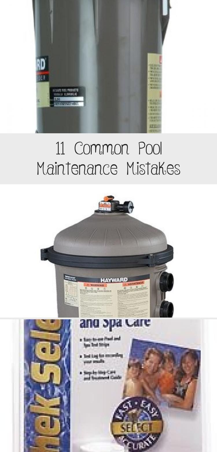11 Common Pool Maintenance Mistakes Pool maintenance