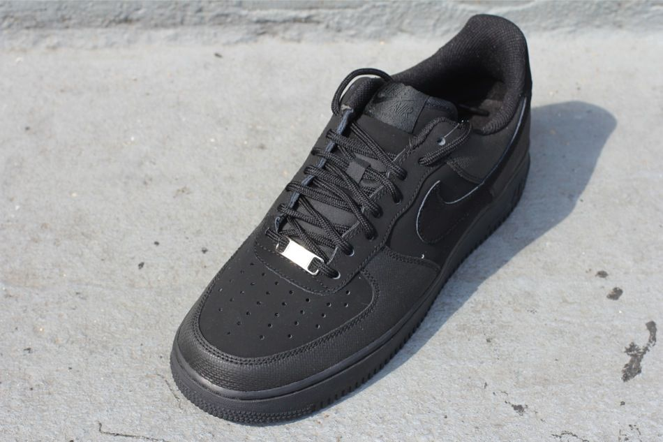 Nike Air Force 1 Low - Black Nubuck  522ca3a22