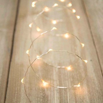 Fairy Lights, 60 LEDs, 10 foot Ultra Thin Wire, Plug-In, ...   deck ...