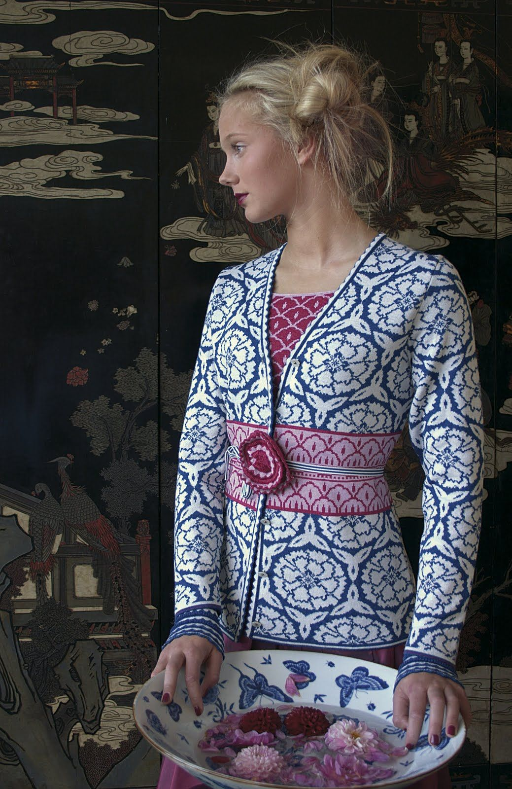 954df764 beautiful Norwegian sweater company, Oleana << love their stuff! Have one  of their beautiful blue scarves.