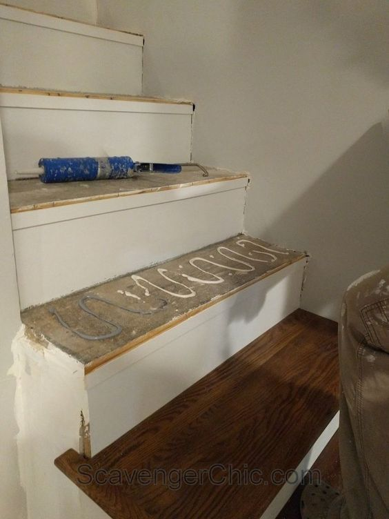 Best Weekend Project – Installing New Stair Treads Stairs 640 x 480