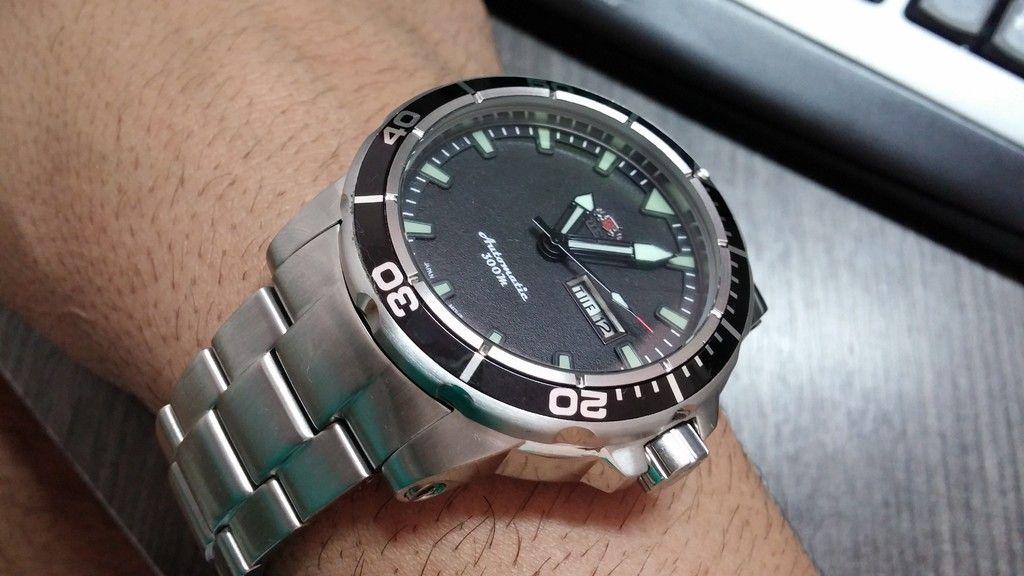 f87bab11236  TimeMob  Relógio Orient Scuba Diver (New Poseidon) R 549