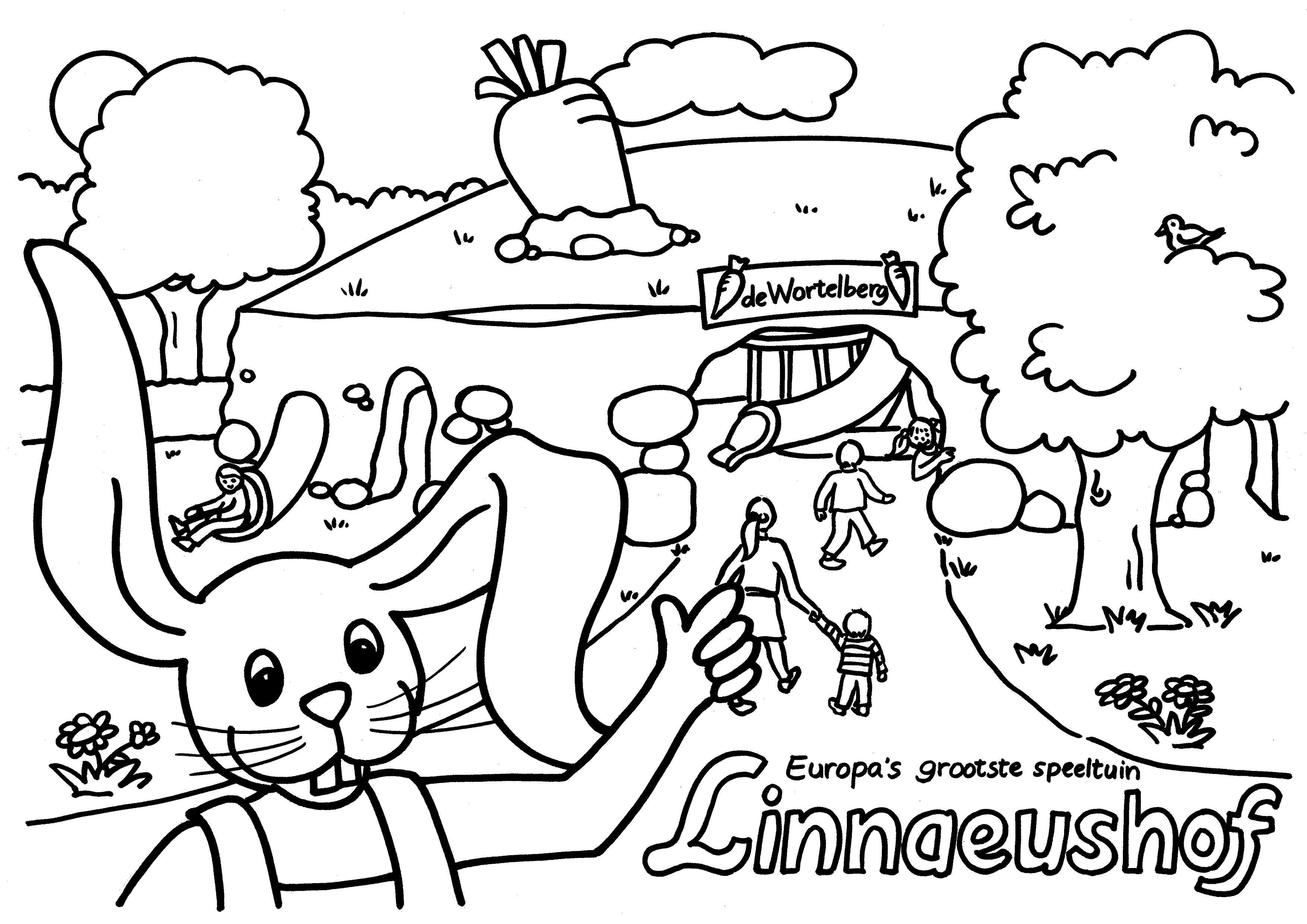 Linnaeushof Kleurplaten Kleurplaten Voor Kinderen Voor Kinderen