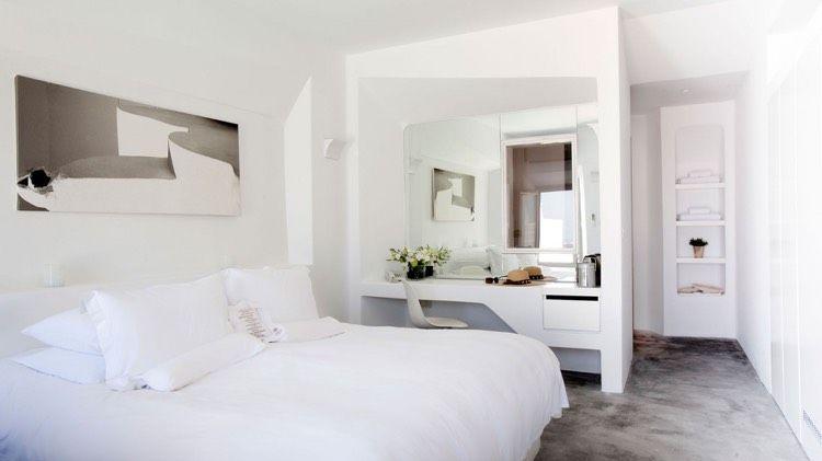 Spiegel gegenüber dem Fenster für mehr Helligkeit Wohnideen fürs - spiegel f r schlafzimmer