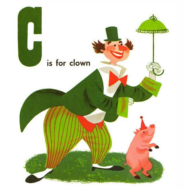 AlphabetBooks03 Buchstaben, Zirkus, Zeichnen