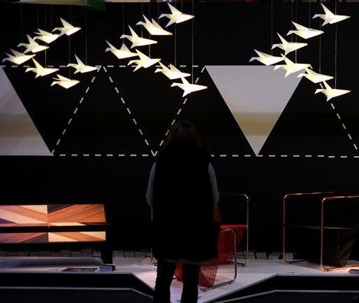 creative origami lighting