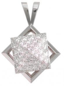 Teufel Motion Pendant With Pavè Diamond Pyramid
