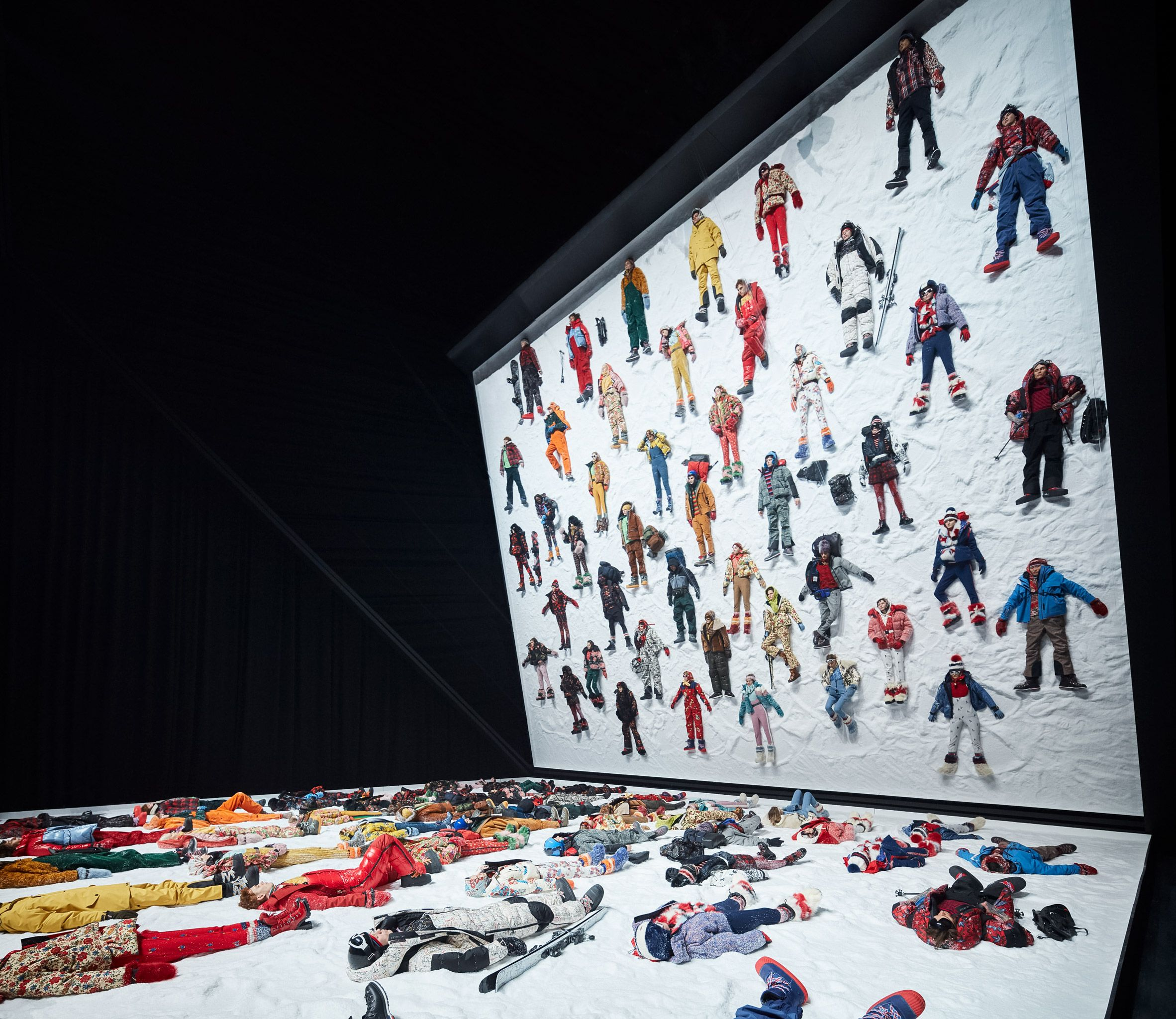 Moncler Teams Up With Eight Designers To Launch Genius Project Fashion Installation Moncler Milan