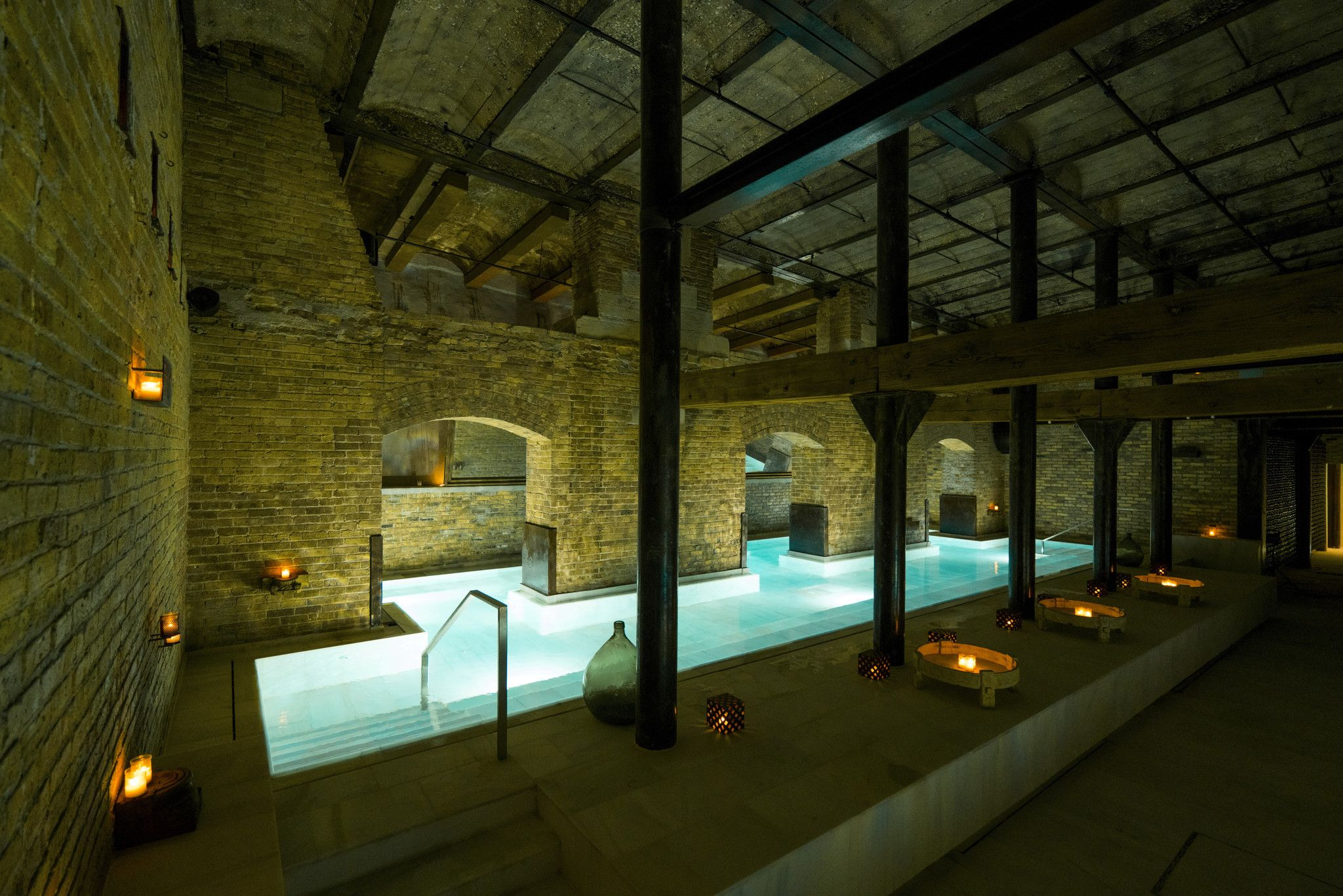 Aire Ancient Baths Roman Bath House Bath House Indoor Outdoor Pool