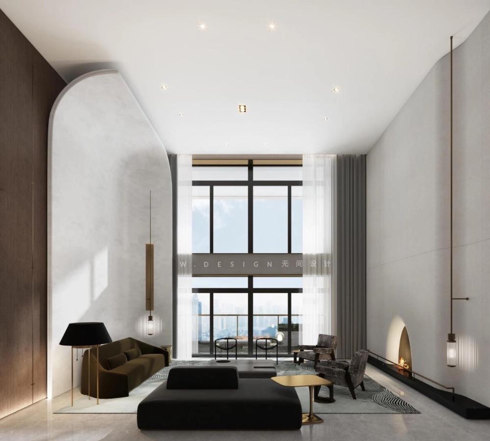 无间 X 汤臣一品 重塑豪宅价值 室内设计 拓者设计吧 With Images