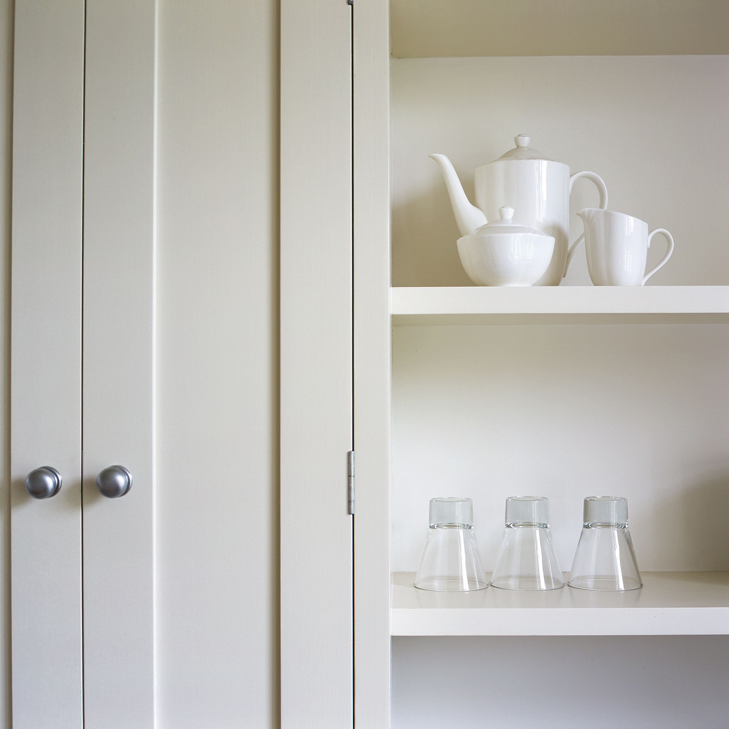 Farrow And Ball Kitchen Cabinets: Cupboard In Clunch Estate Eggshell
