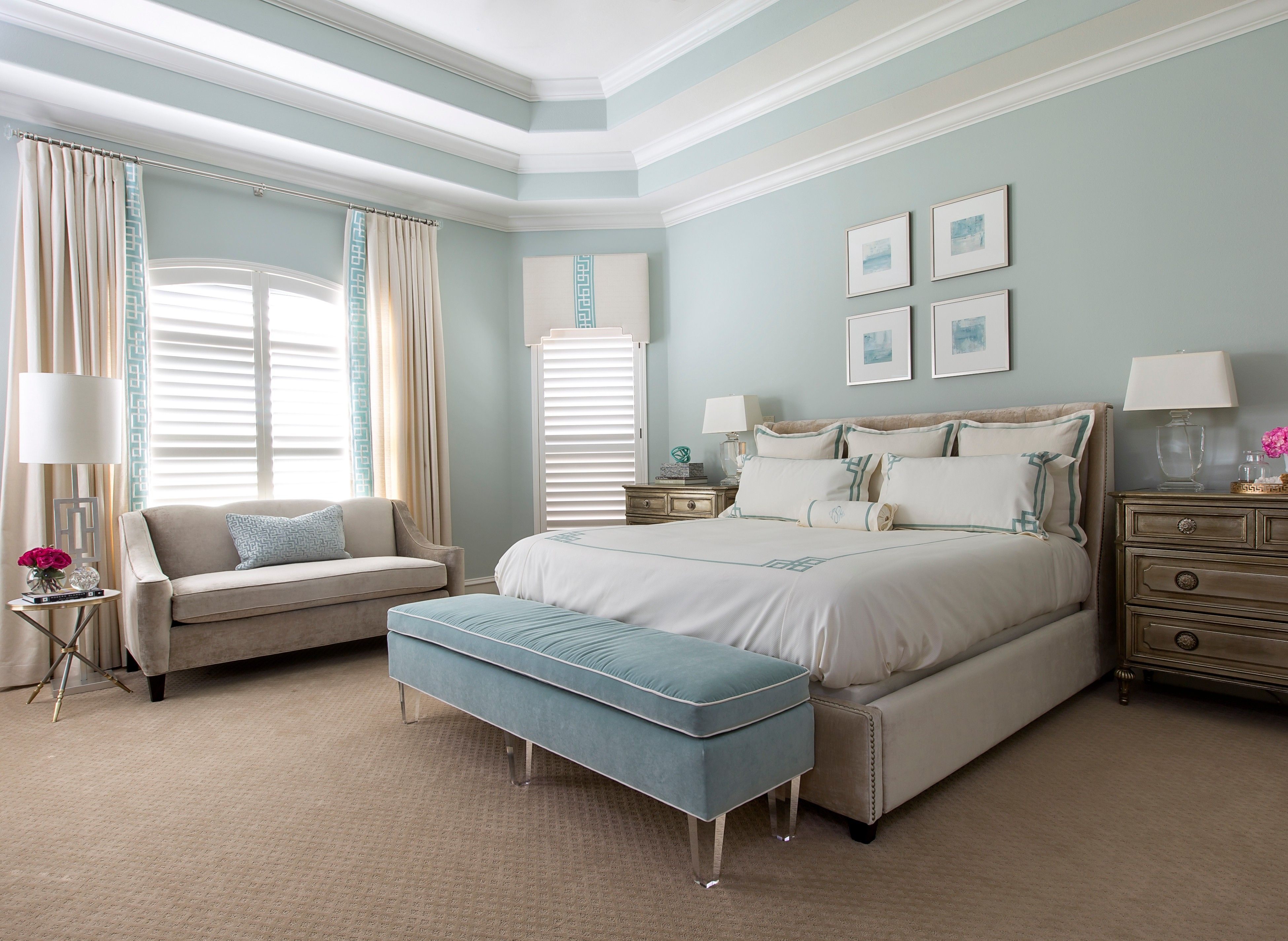 Master Bedroom   Amanda Carol Interiors   Interior Designer U0026 Decorator    The Woodlands, TX, United States