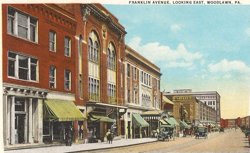 Historic Downtown Franklin in Franklin, TN - Tennessee