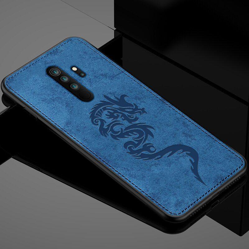 Redmi Note 8 Pro Case For Xiaomi Redmi Note 7 Case Mofi Case Cloth Soft Tpu Note8 Note7 Case Shockproof Anti Knock Protect Cover Phone Case Cover Note 7 Case