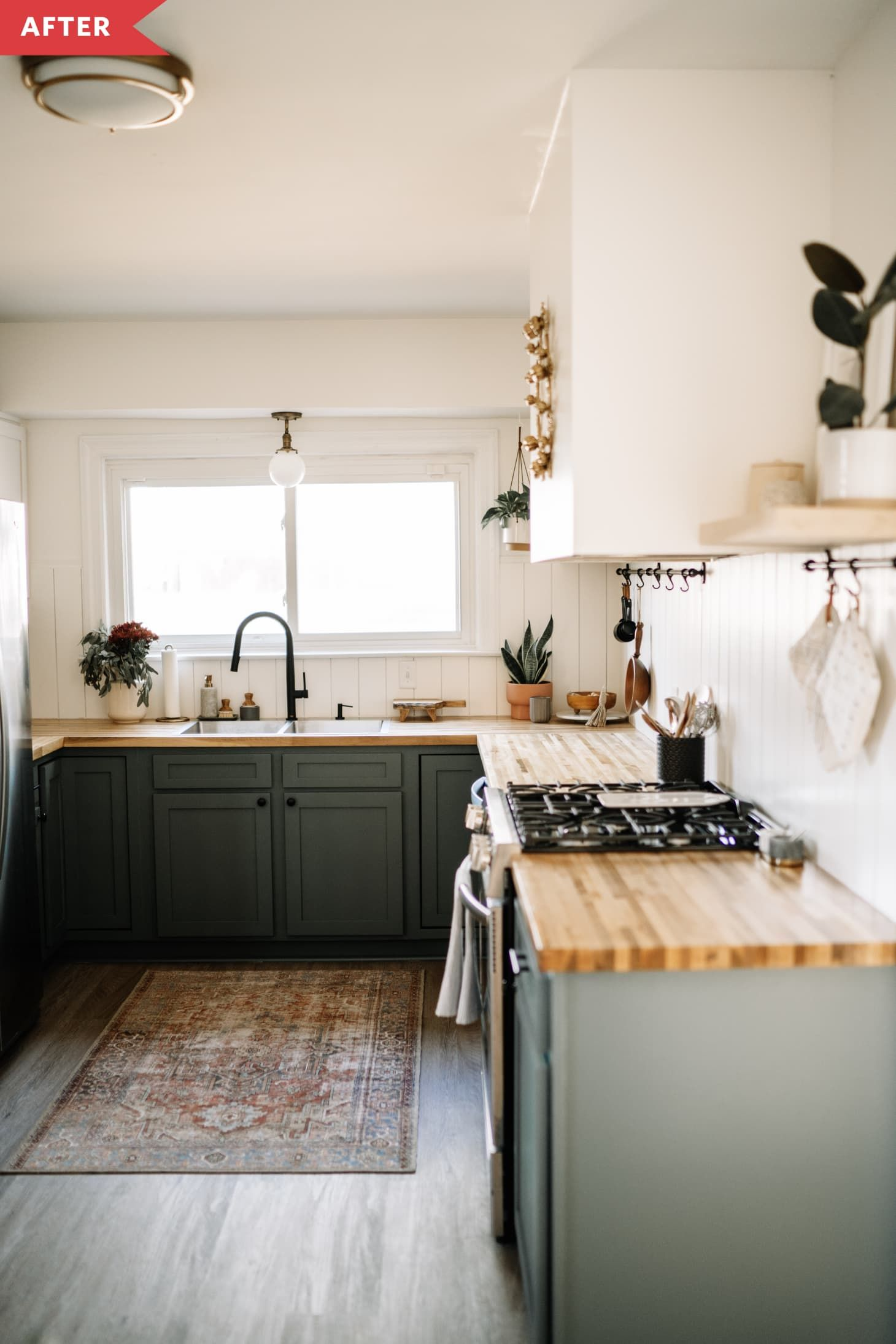 Before & After: This DIY Kitchen Redo Would Make Chip and Joanna Proud