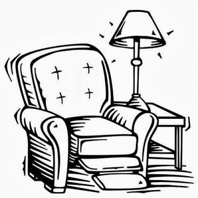 Muebles Y Objetos De La Casa Para Colorear En 2020 Objetos