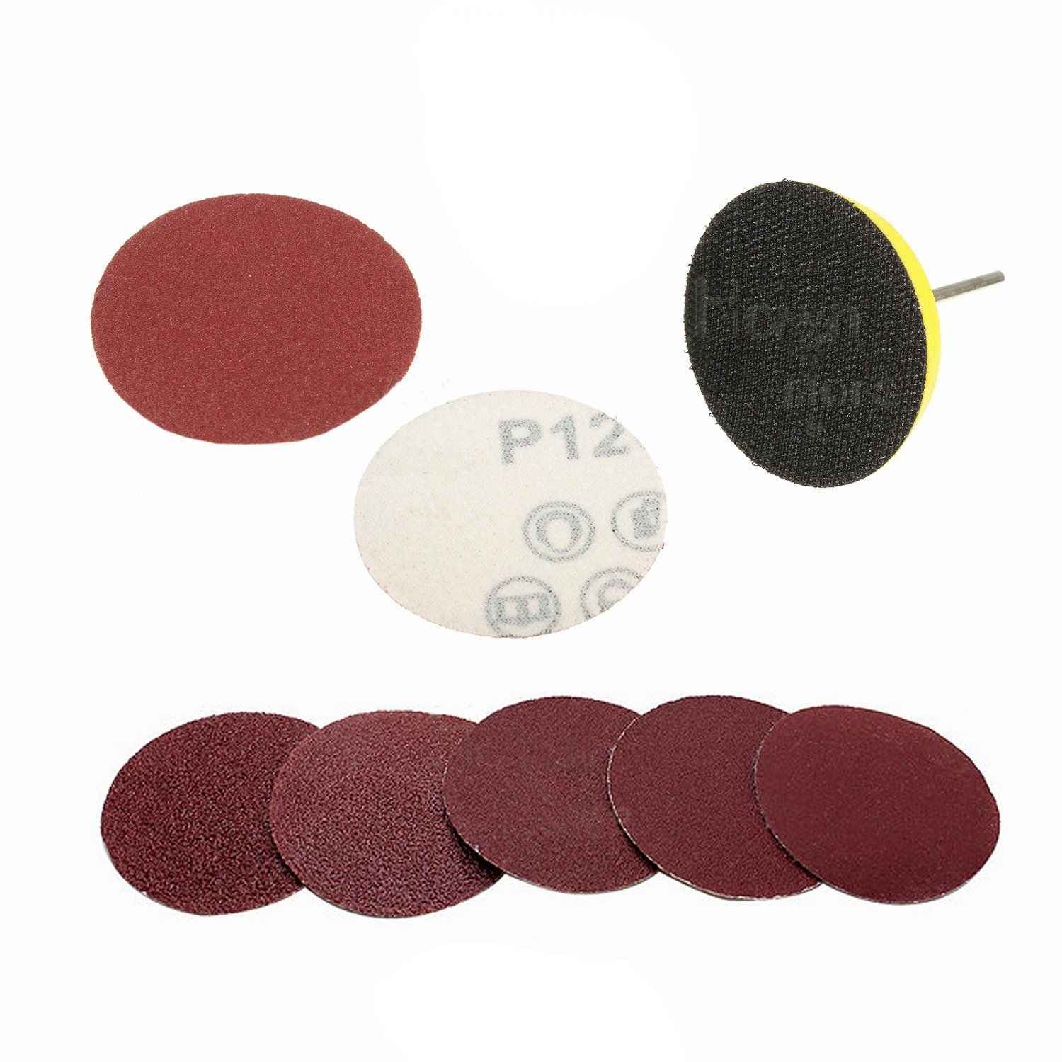 Hook And Loop Sanding Pad Sheet 2 Inch Disc Paper Sander Sandpaper In 2020 Sanding Sandpaper Hook