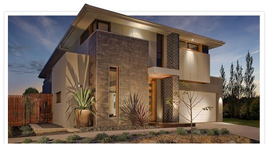 Laguna Modern House Plans New Home Designs Metricon Homes Sydney Nsw