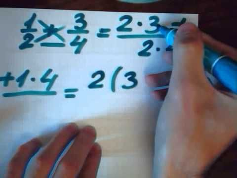 Как сложить дроби без репетитора Урок математики с юмором ...