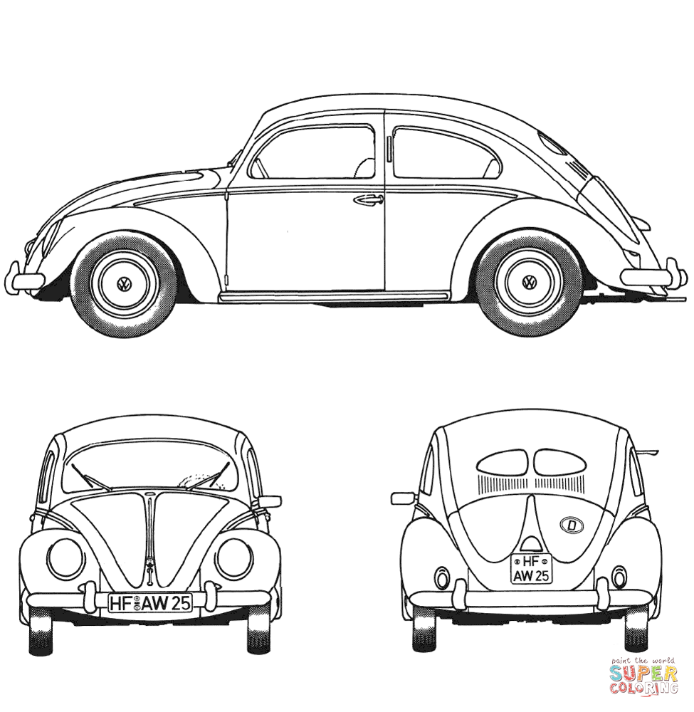 Free coloring pages vbs - Classic Cars Free Coloring Pages