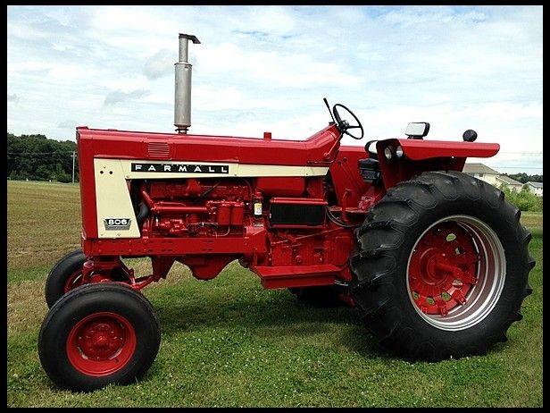 Vintage Farms Tractors For Sales : Farmall diesel for sale by mecum auction