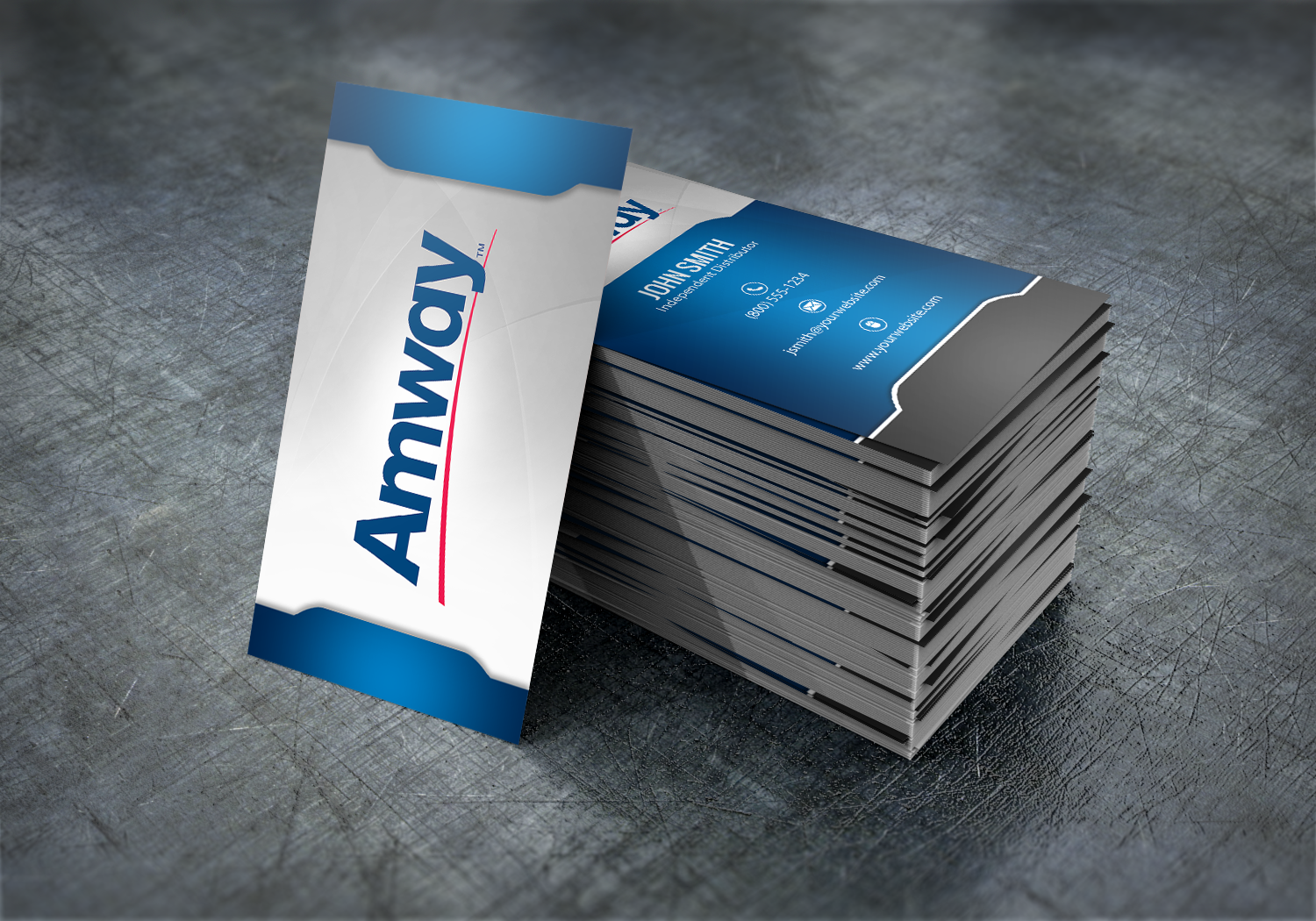 Make A Great First Impression With Our New Amway Business Card Designs Mlm Amway Print Paper Graphicdesign Businessc Amway Business Amway Business Cards