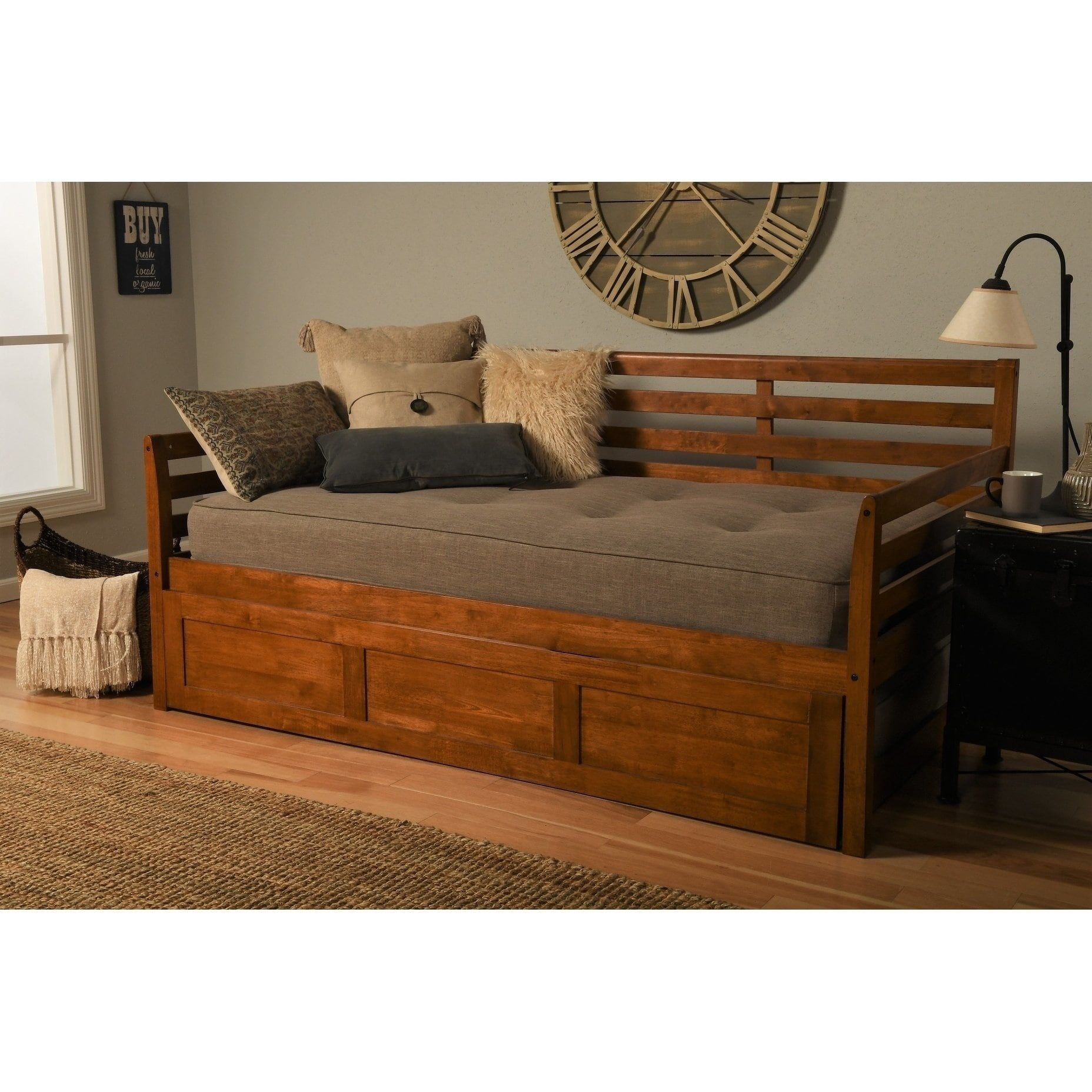 Copper Grove Kutaisi Wood Daybed With Images Wood Daybed
