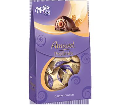 Milka Choco Crispy Pralines Amavel Is A Combination Of Milka